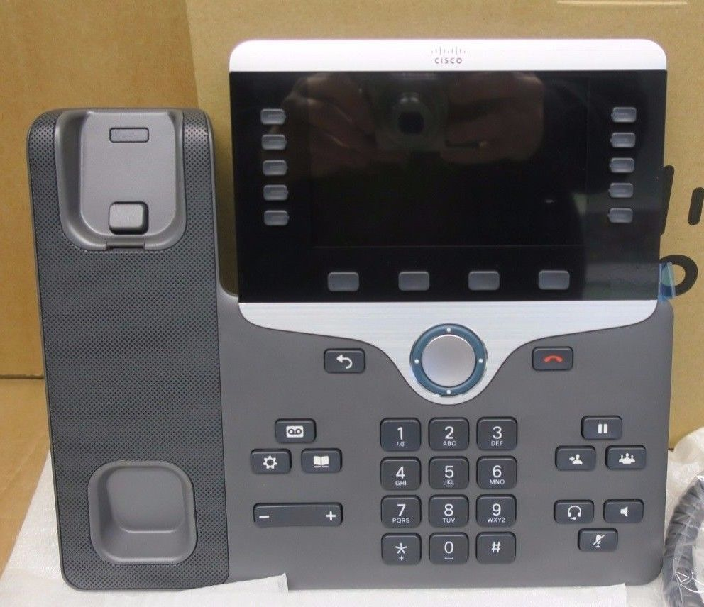 New Cisco CP-8841-K9 Unified IP VOIP Colour Display
